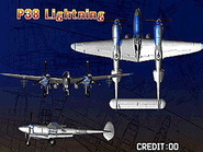 P-38 Lightning (Strikers 1945 Plus Attract)