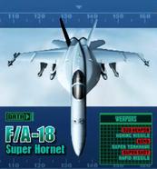 FA-18 Super Hornet (2P)