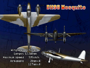 DH-98 Mosquito (Console Attract)