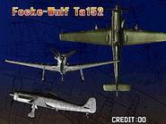 Focke-wulf Ta152 (Strikers 1945 Plus Attract)