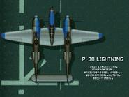 P-38 Lightning (Console Attract)