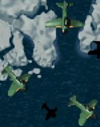 Zero Fighter Formation