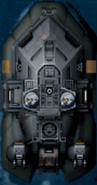 Spike arm hovercraft