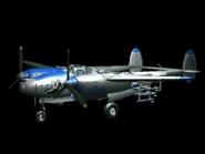 P-38 Lightning (Console Intro)