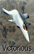 X-36 Ending Art