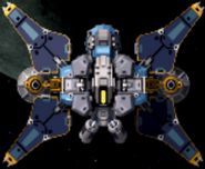 Cross blade satellite