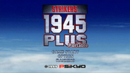 Strikers 1945 Plus Portable Menu Screen
