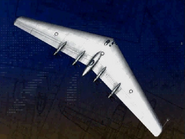 B-35 Flying Wing (Fighters Index 1)