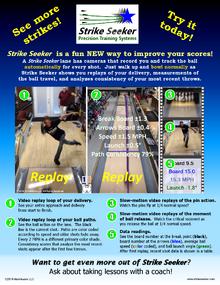 Strike Seeker Bowler Intro Flyer