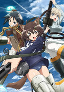 Brave Witches VR promotional art