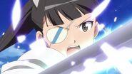 Mio Sword in battle