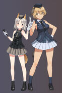 Edytha rossmann and waltrud krupinski brave witches and world witches series drawn by shimada fumika