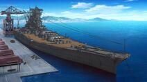 Yamato at Fuso Dock