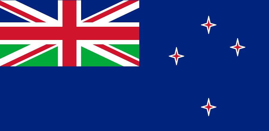 Flag of New Zeeland