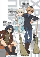 Brave Witches Prequel manga art 3 Naoe Nikka Walltrud