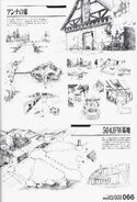 Strike Witches fanbook 2 Duchy of Romangna Locations page 2
