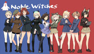 506th Noble Witches drawn by Humikane