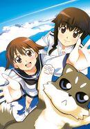 Yoshika & Junko Maiden in the sky art