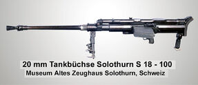 Tankbüchse SOLO S18-100