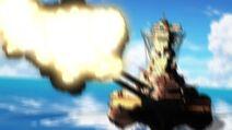 Yamato Sailing and Firing
