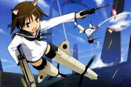 Yoshika & Mio Fighting