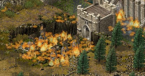 Burning Series Castle