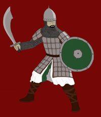 Arabian swordsman by zamroniagufan-d39stdh