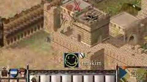 SFH - Barbarius VS Maskim STRONGHOLD CRUSADER