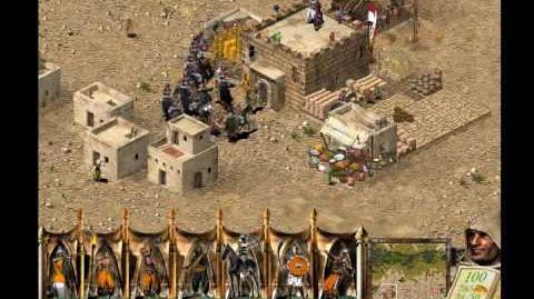Stronghold Crusader Trick