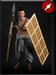 Spear tribesman icon