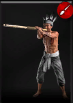 Blowpipe tribesman icon