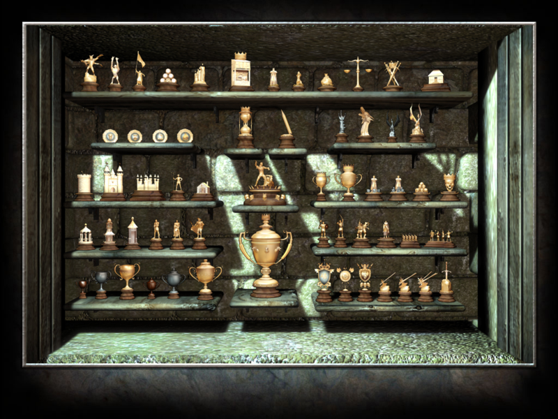 SHL Full Award Cabinet