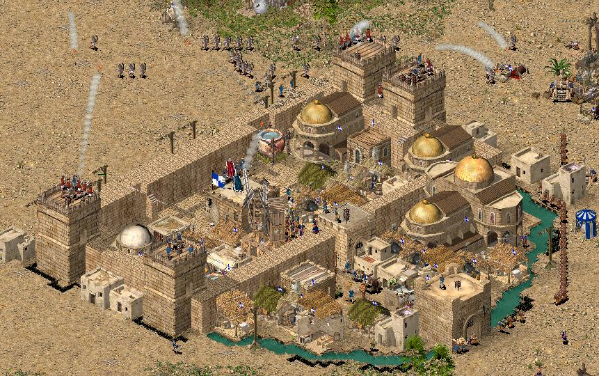 how to create map in stronghold crusader