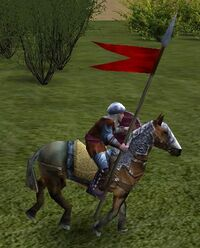 Light cavalry steed