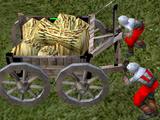 Burning Cart