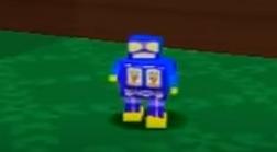 Blue Toy Robot