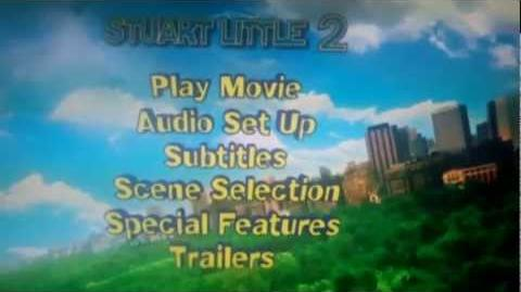 Stuart Little 2 DVD Menu