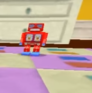 Red Toy Robot
