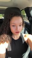 Kayla Maisonet red lipgloss