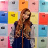 Lulu Lambros & Script Wall