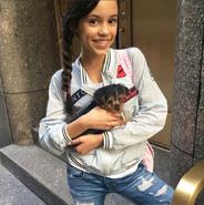 Jenna Ortega's dog