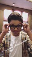 Malachi Barton glasses on