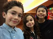 Malachi Nicky & Ariana pre SITM