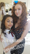 Ariana and Francesca Capaldi