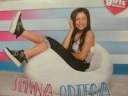 Jenna Ortega (Stuck in the Middle) full page pinup by Girls World Magazine (02B-D)