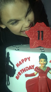 Ariana Greenblatt 11th Birthday