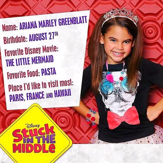 Ariana Greenblatt Stuck In The Middle Wikia Fandom