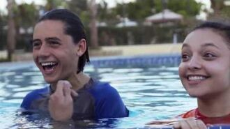 Stuck in the Waterpark The Movie Behind the Scenes EXCLUSIVE CLIP