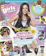 JENNA ORTEGA covers Girls World Magazine (August 2016) by DOGgone it