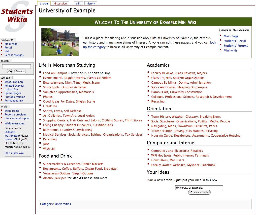 Image University Wiki Template Exampleg Students Fandom